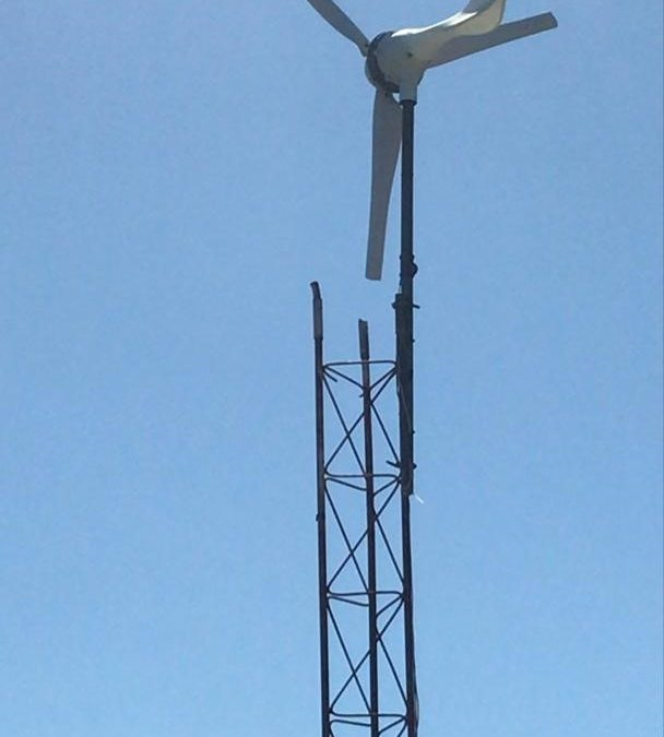 Wind Turbine Provides Backup Power to Water Tower Pump