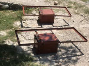 welded boxes and solar panel frames